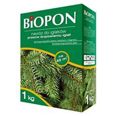 Nawóz do iglaków przeciw brązowaniu igieł Biopon