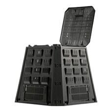 Kompostownik Evogreen 885x885x800mm 420L czarny Prosperplast IKEL420C