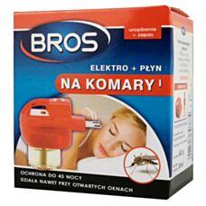 Bros na komary elektro + płyn (45 nocy)