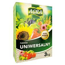 Nawóz granulowany uniwersalny 3kg Agra