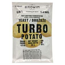 Drożdże gorzelnicze Turbo Potato 25g Biowin 403400