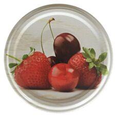 Nakrętka fi 66 4-zaczepowa Owoce Mix4 1250 sztuk