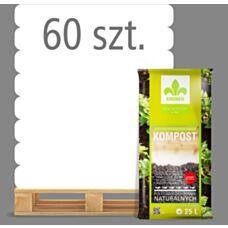 Kompost ogrodniczy 25L Kronen - Paleta (60 sztuk)