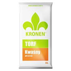 Torf naturalny kwaśny 80 L Kronen
