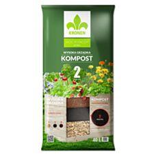 Wysoka grządka Kompost 2 40 L Kronen