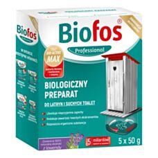 Biologiczny preparat do latryn i suchych toalet 250 g Biofos