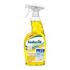 Ludwik Płyn do mycia szyb i glazury Lemon z alkoholem 750 ml Inco