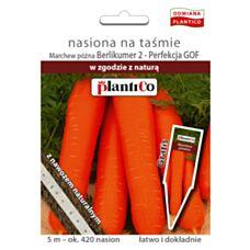 Marchew Berlikumer 2 Perfekcja GOF nasiona na taśmie z nawozem 5m PlantiCo
