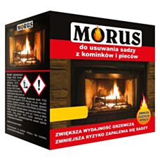 Morus Proszek do usuwania sadzy z kominków i pieców 50g Bros