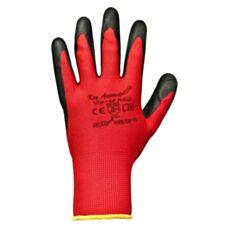 Rękawice dziane powlekane Viper RED CB