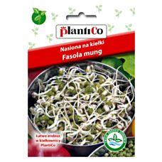 Nasiona na kiełki Fasola Mung 40g PlantiCo