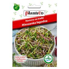 Nasiona na kiełki mieszanka łagodna 25g PlantiCo