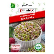 Nasiona na kiełki Rzodkiewka 20g PlantiCo