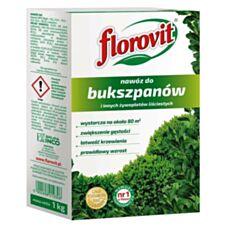 Nawóz do bukszpanów i innych żywopłotów liścicastych 1 kg Florovit