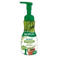 Nawóz w pianka do roślin zielonych 250 ml Biopon