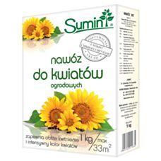 Nawóz do kwiatów ogrodowych 1kg SUMIN