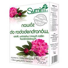 Nawóz do rododendronów, azalii, wrzosów i innych roślin kwaśnolubnych 1kg SUMIN