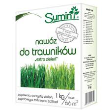 Nawóz do trawników Extra Zieleń 1kg SUMIN