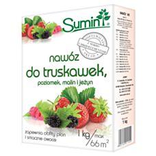 Nawóz do truskawek, poziomek, malin i jeżyn 1kg SUMIN