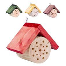 Okrągły domek dla pszczół 17x9x14 cm Biowin