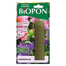 Pałeczki nawozowe uniwersalne 30 sztuk Biopon
