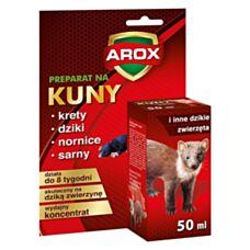 Płyn odstraszający kuny i inne dzikie zwierzęta 50 ml Arox