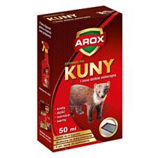 Płyn odstraszający kuny i inne dzikie zwierzęta 50 ml + tacki Arox