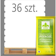 Podłoże do zakładania i pielęgnacji trawników 80 L Kronen - Paleta (36 sztuk
