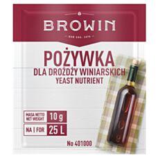 Pożywka do drożdży winiar 100g Browin 401000