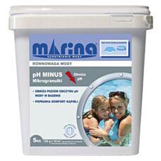 Preparat pH minus do basenu 5 kg Marina