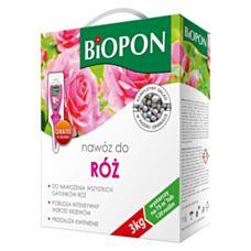 Nawóz do róż 3 kg Biopon