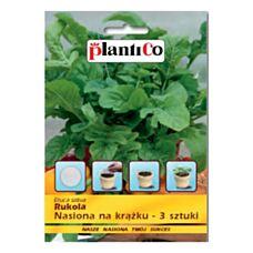 Rukola nasiona na krążku 3 sztuki PlantiCo