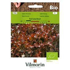 Sałata Red Salad Bowl Bio 0,5g Vilmorin