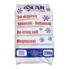 Sól przeciw gołoledzi 25 kg Olan Południe