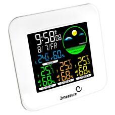 Stacja pogody bezprzewodowa termometr/Higrometr Biowin 260708