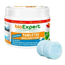 Biologiczne tabletki do szamb 12sztuk +2 gratis BIOEXPERT