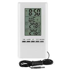 Termometr z zegarem biały Biowin 172802