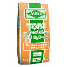 Torf naturalny kwaśny 80 L Hollas