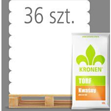 Torf naturalny kwaśny 80 L Kronen - Paleta (36 sztuk)