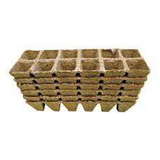 Torfowe doniczki kwadratowe 4x5cm 72 sztuki Jiffy