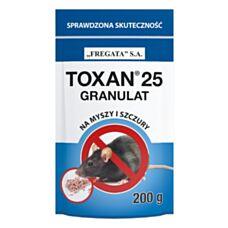 Toxan 25 granulat 150g Fregata