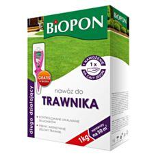 Nawóz długo działający do trawnika 1 kg Biopon