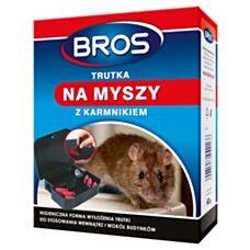 Trutka na myszy z karmnikiem 60g BROS