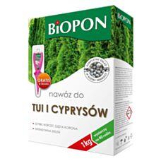 Nawóz do tui i cyprysów 1 kg Biopon