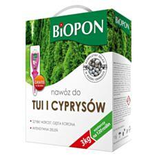 Nawóz do tui i cyprysów 3 kg Biopon