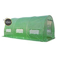 Tunel foliowy 2,5x4x2m - 10m2 zielony Focus Garden