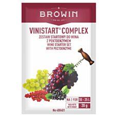 Drożdże Winiarskie Vinistart Complex 20 g Biowin