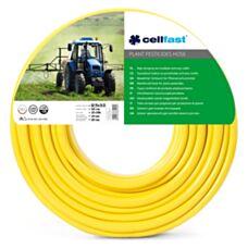 Wąż zbrojony do środków ochrony roślin 12,5x3,0 50mb żółty Cellfast 20-296
