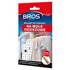 Wkłady do pułapek na mole odzieżowe DUO Bros