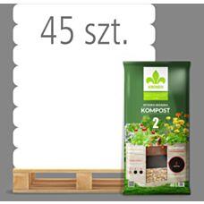 Wysoka grządka Kompost 2 40 L Kronen - Paleta (45 sztuk)